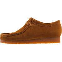 Pantofi Wallabee Shoes In Cola Suede Barbati