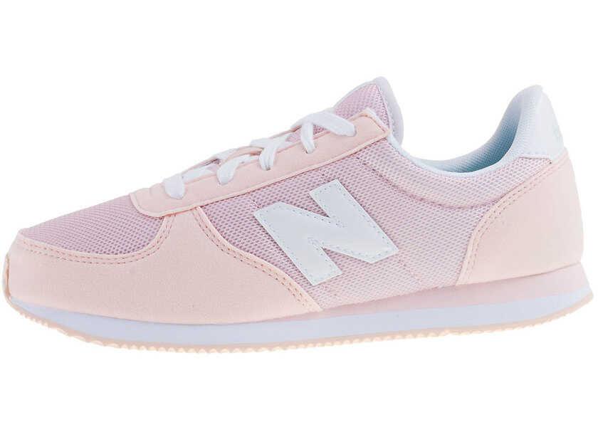 Tenisi & Adidasi Baieti New Balance Classics Kl220 Grade School Kids Trainers In Pink White