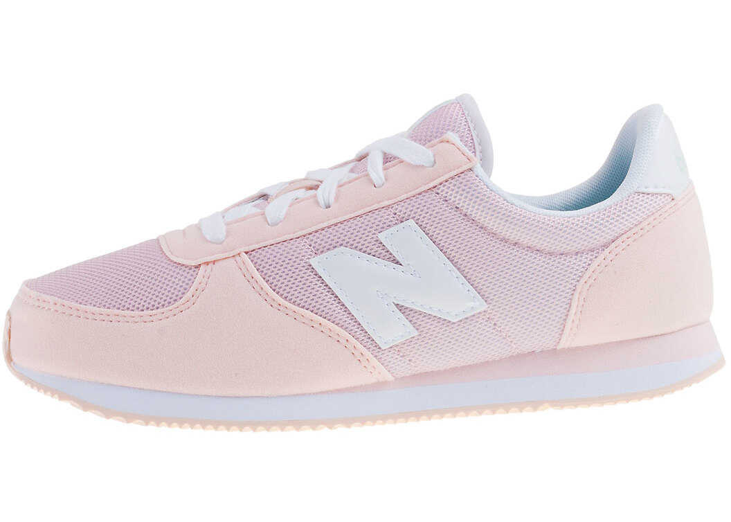 New Balance Classics Kl220 Grade School Kids Trainers In Pink White Pink