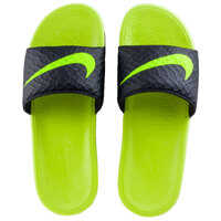 Slapi Nike Benassi Solarsoft Slide In Black Lime