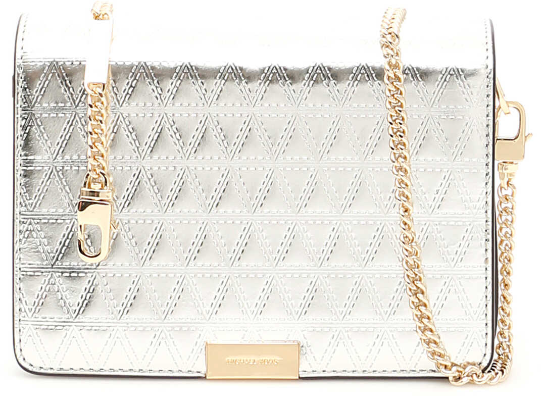 Michael Kors Clutch With Strap CHAMPAGNE
