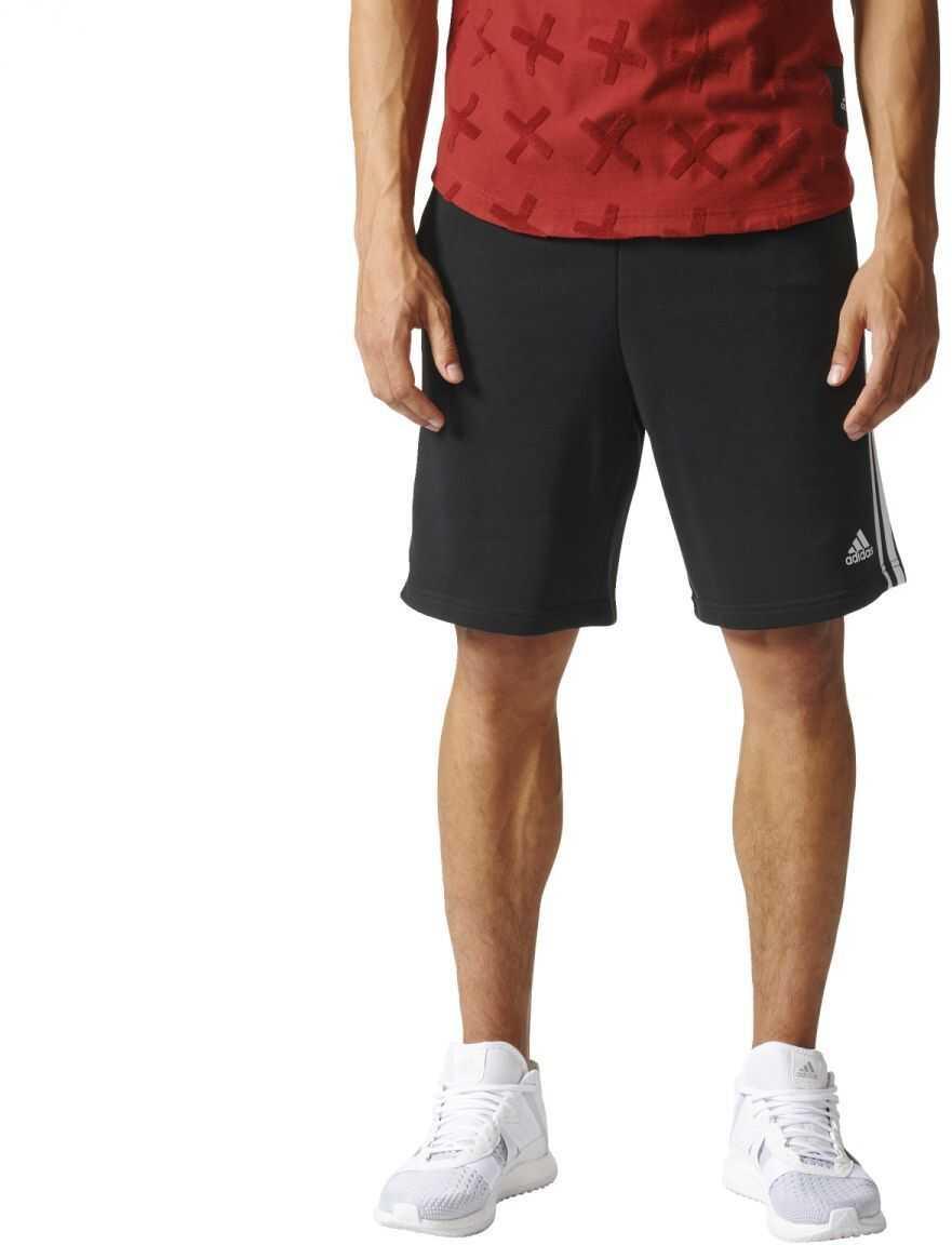 adidas ESS 3S SHORT FT BLACK/WHITE