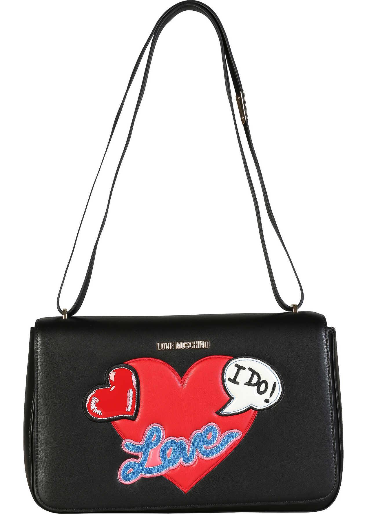 LOVE Moschino Jc4109Pp15Lt Black