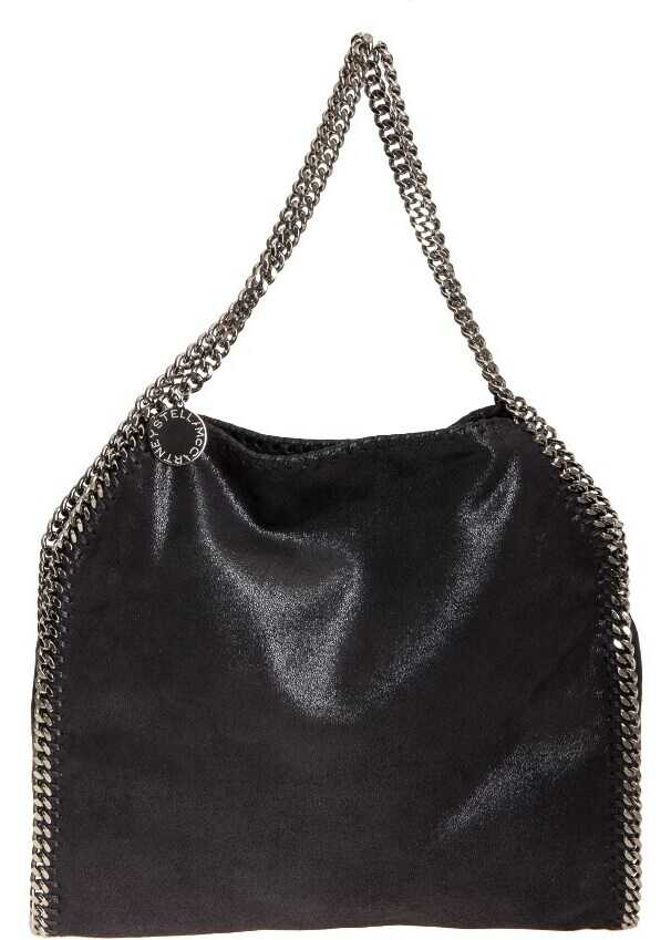 adidas by Stella McCartney Black Falabella Small Tote Bag Black