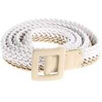 Curele Two-Colored Braided Belt Femei