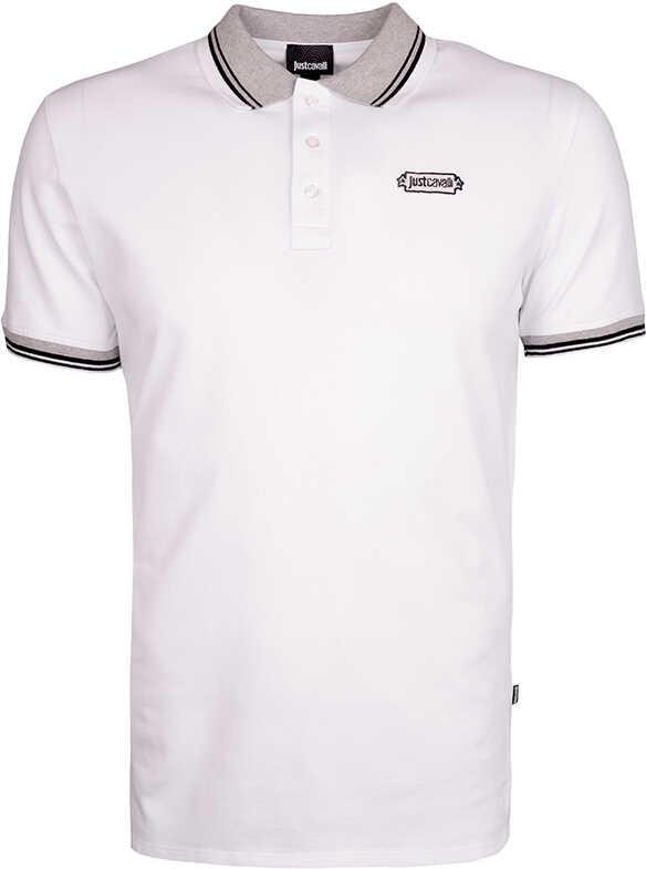 Roberto Cavalli Just Cavalli Koszulka Polo Biały