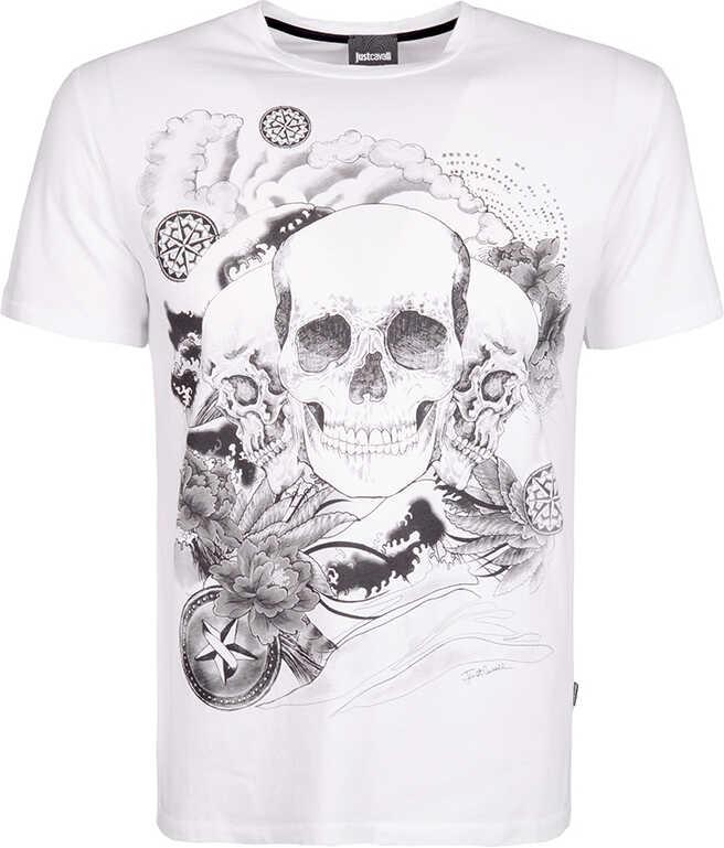 Roberto Cavalli Just Cavalli T-shirt Biały