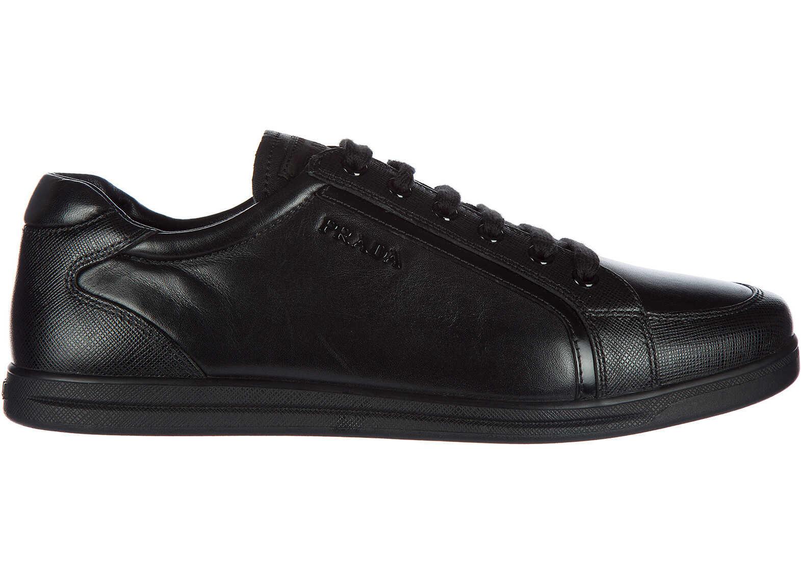 Prada Trainers Sneakers Black