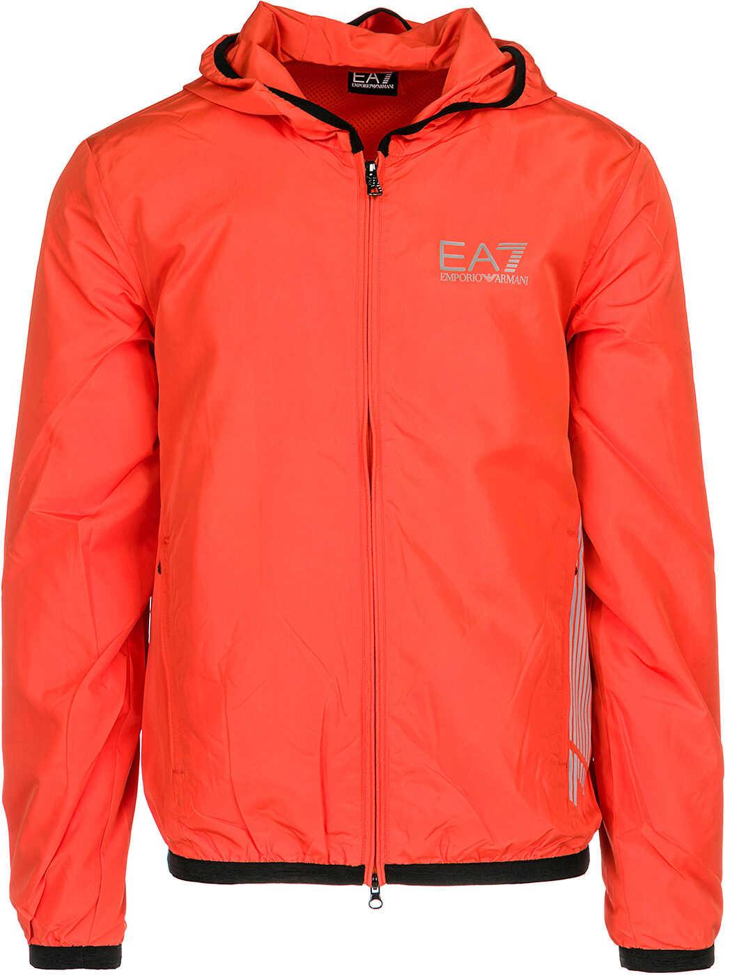 EA7 Blouson Hood Orange