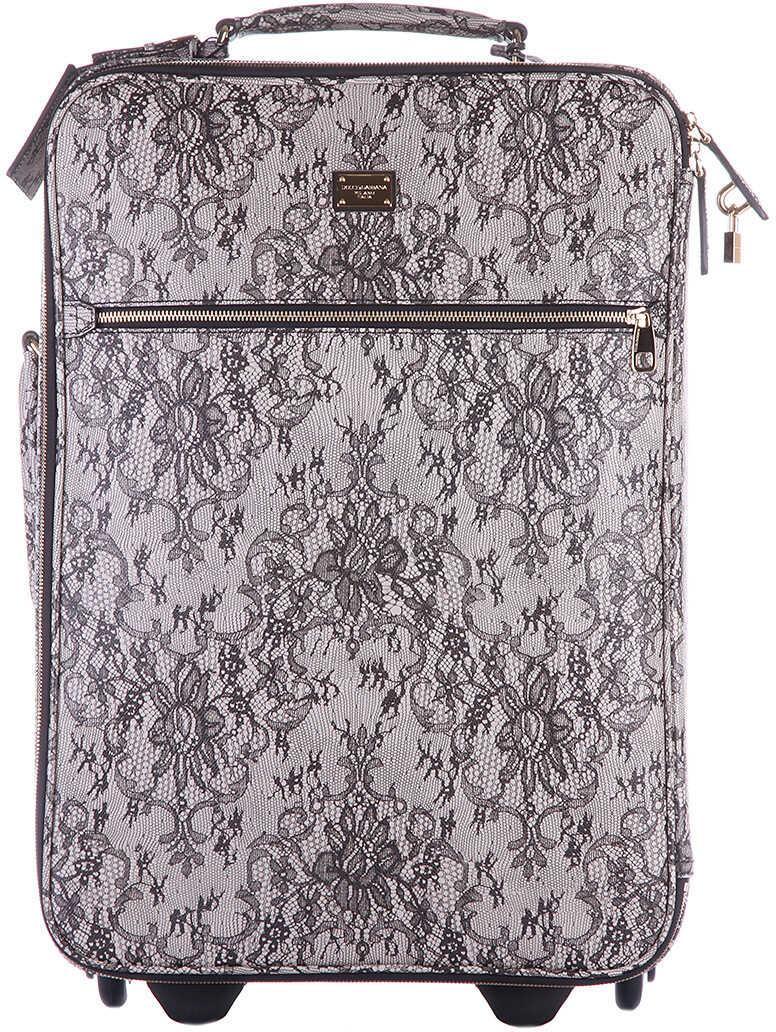 Dolce & Gabbana Trolley Lace Grey