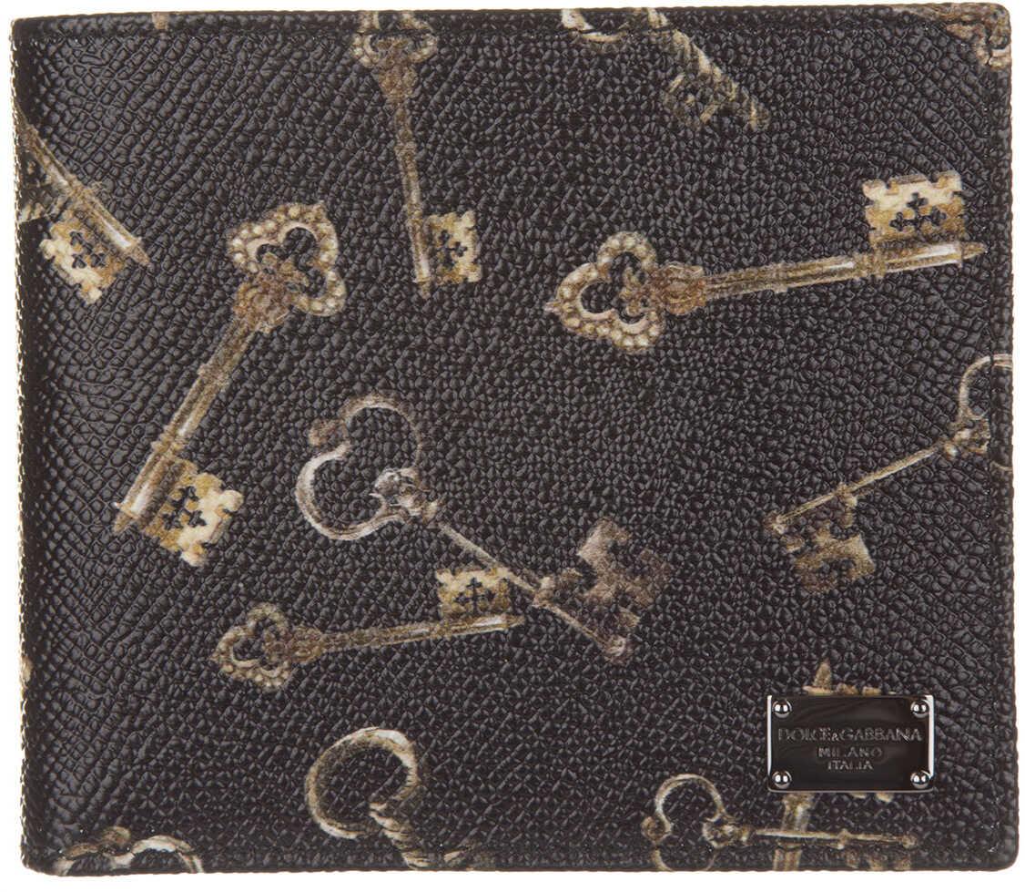 Dolce & Gabbana Keys Print Black