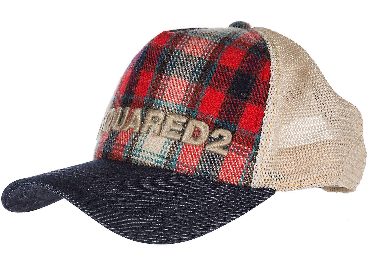 DSQUARED2 Cap Baseball Beige