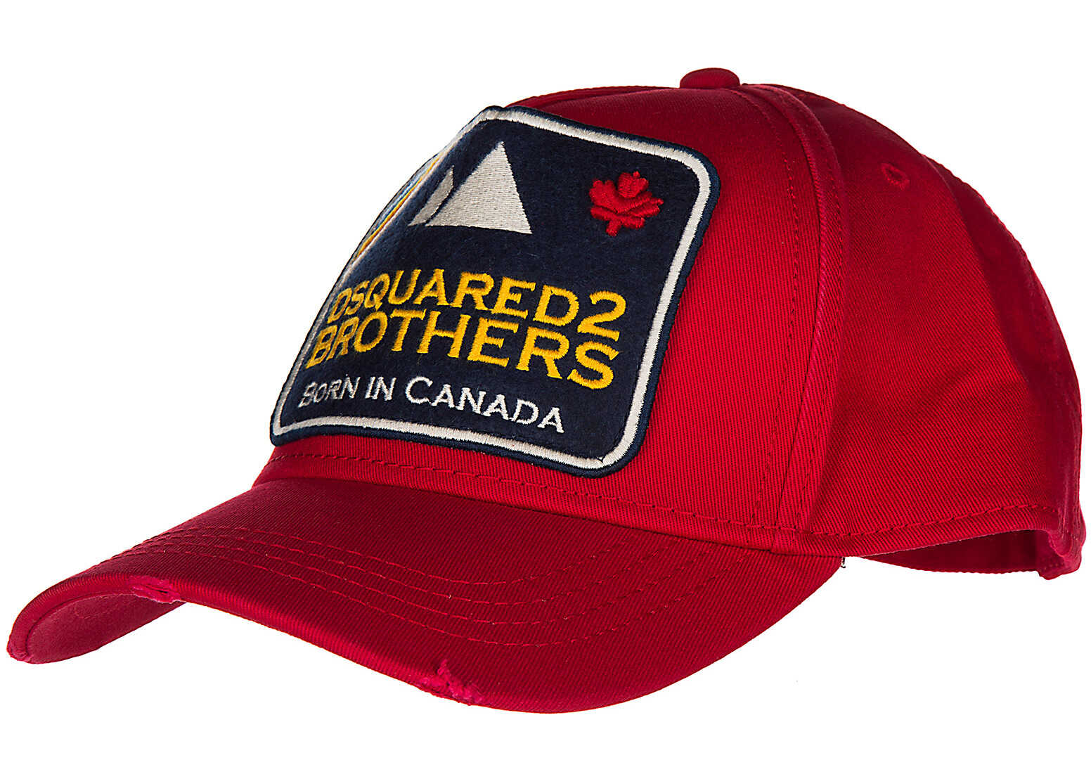 DSQUARED2 Cap Gabardine Red