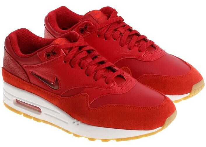 Nike Red Air Max 1 Premium Sc Sneakers Red