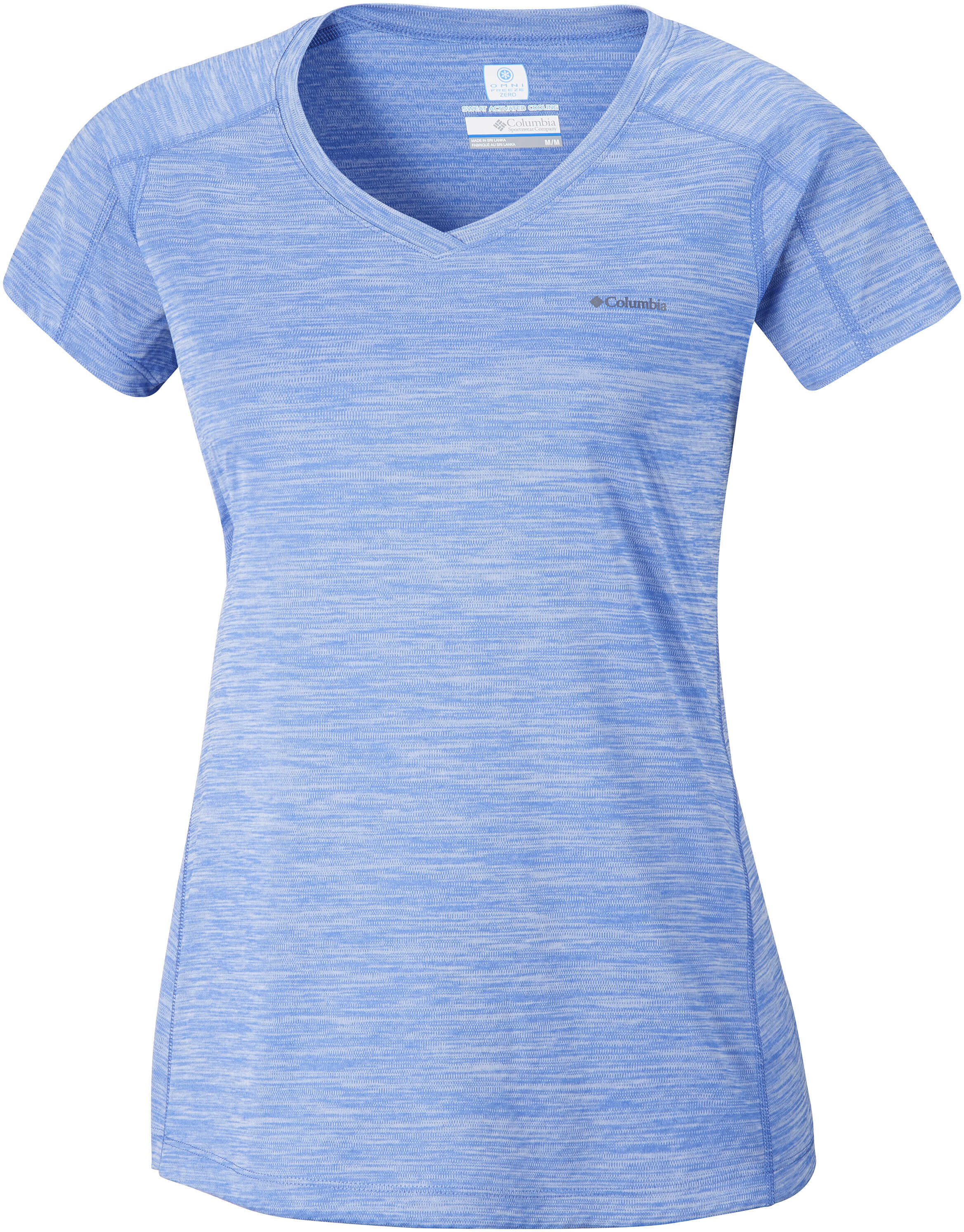 Columbia ZERO RULES™ SS SHIRT-Atoll Mediaval Heather