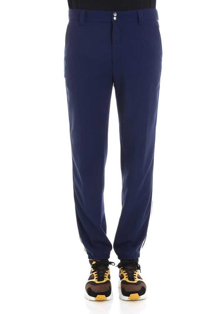 nuova collezione vendita più calda ultime tendenze Kenzo Baseball Blue Trousers - Blue - Boutique Mall