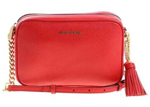 Michael Kors Red Crossbody Ginny Bag Red