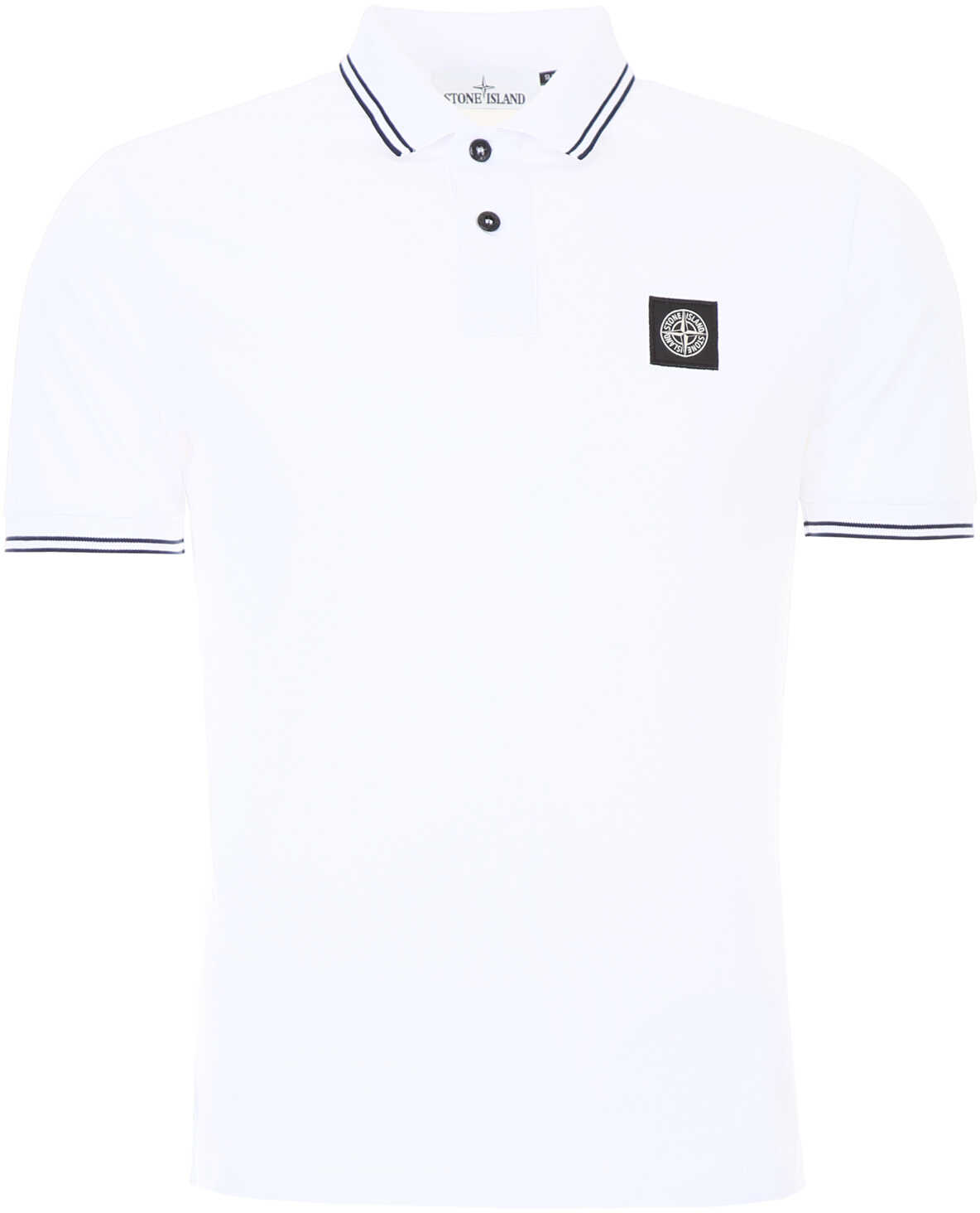 Stone Island Cotton Polo Shirt WHITE
