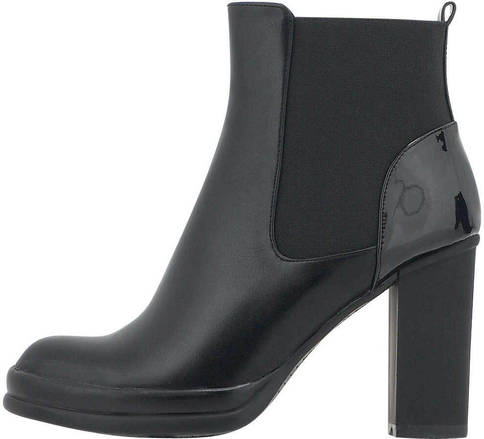 Nikki Me Womens Dress Ankle Boots In Black Black