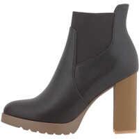 Ghete & Cizme Women's Dress Ankle Boots In Brown Femei