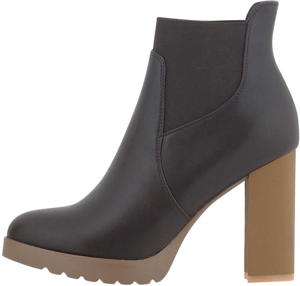 Nikki Me Womens Dress Ankle Boots In Brown Brown