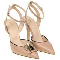 Incaltaminte RED VALENTINO Pink Leather Pumps