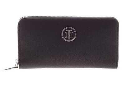 Tommy Hilfiger Black Eco-Leather Wallet Black