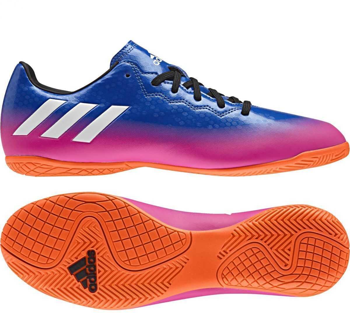 adidas MESSI 16.4 IN* BLUE/FTWWHT/SORANG