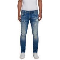 Blugi Anbass Men's Dark Blue Slim Fit Jeans* Barbati