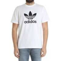 Tricouri White Trefoil T-Shirt Barbati