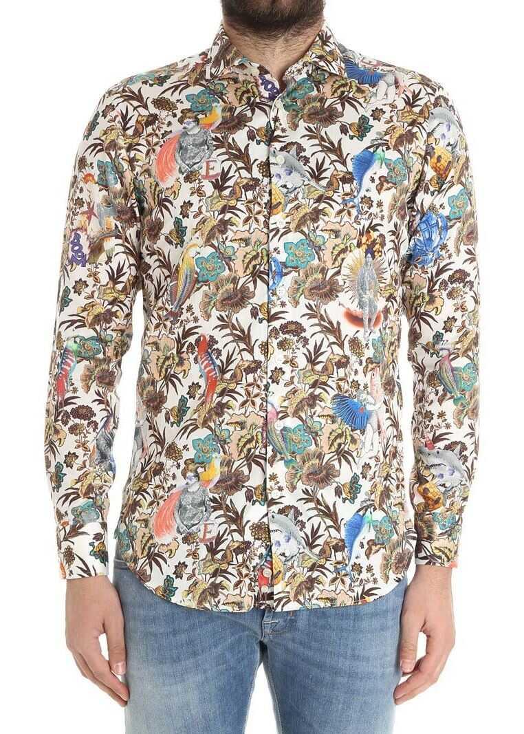 ETRO Floral Shirt Multi