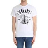 Tricouri Diesel White Cactus T-Shirt