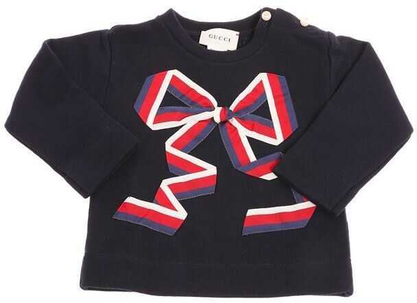Gucci Sweatshirt With Bow Blue