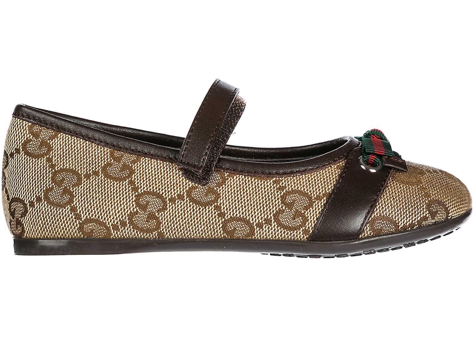 Gucci Child Cotton Beige