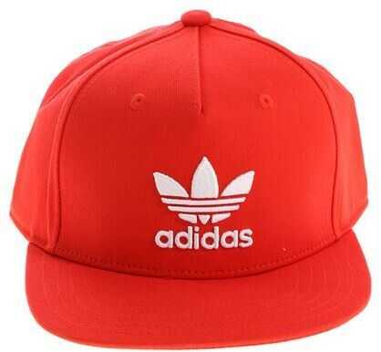 adidas Originals Ac Three Flat Cap* Red