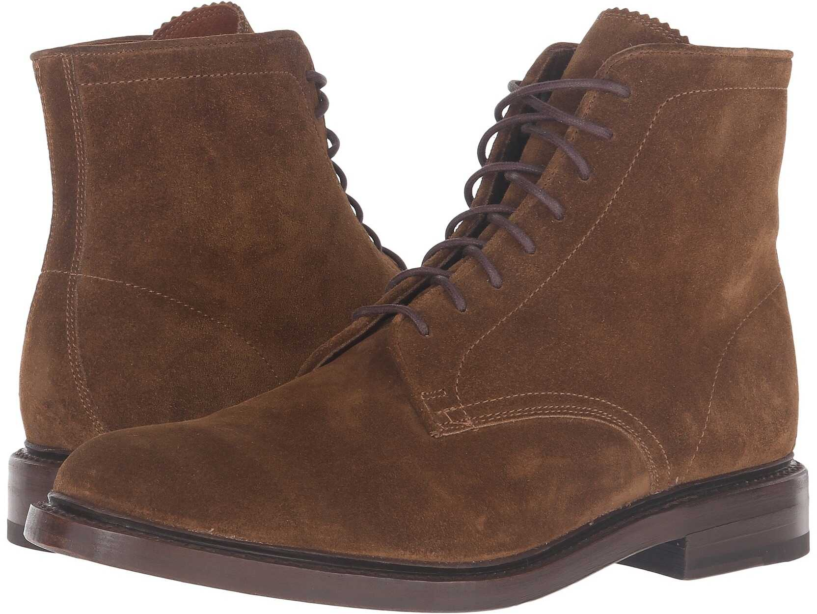 Frye Jones Lace-Up* Chestnut Oiled Suede