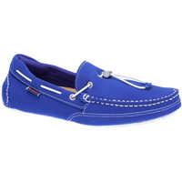 Mocasini Kedge Tie Man's Blue Shoes Barbati