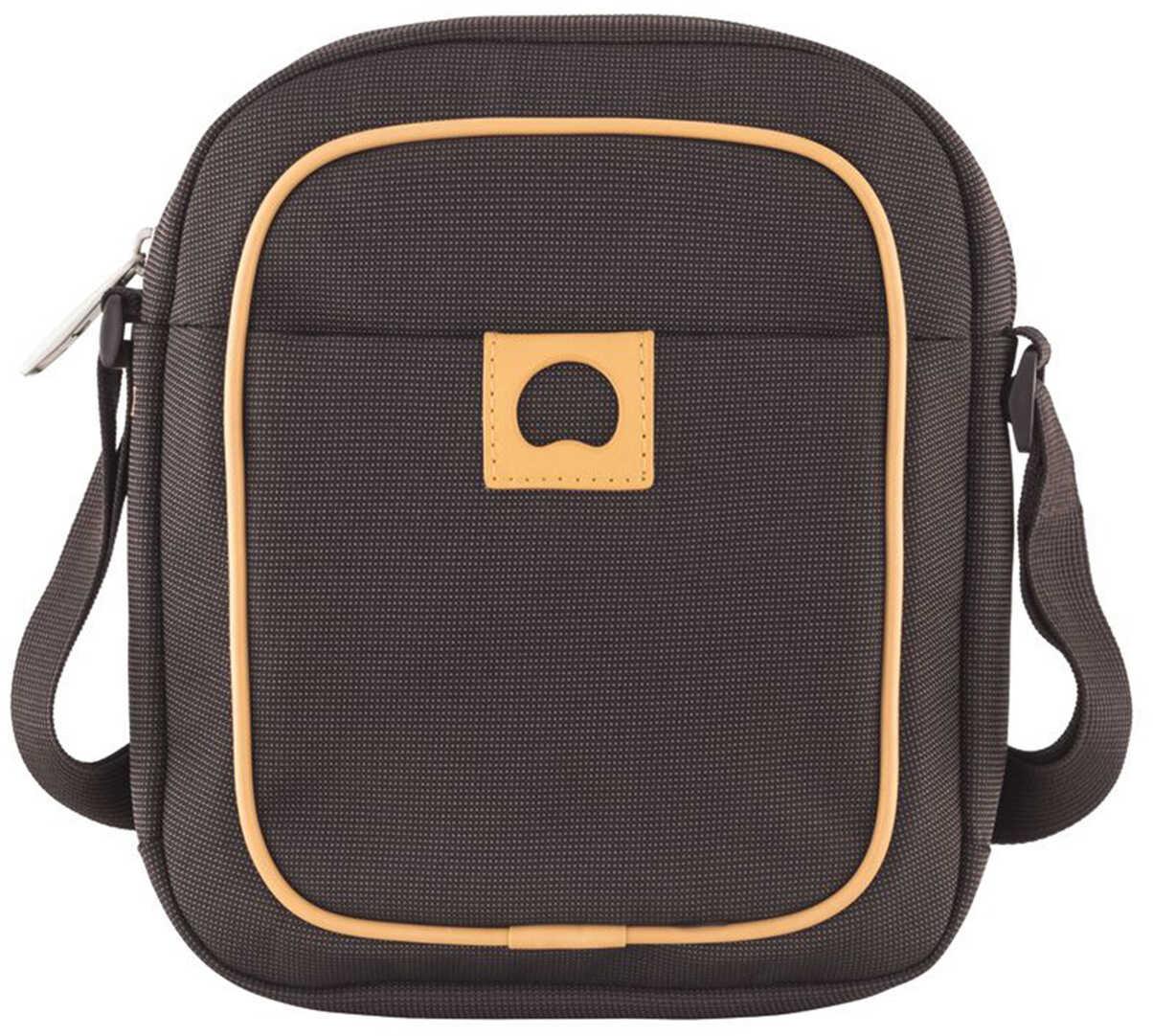 Delsey Montholon Unisex Brown Mini Shoulder Bag Brown