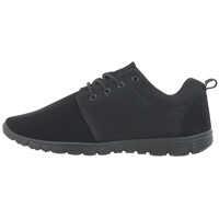 Tenisi & Adidasi Men's Black Low Cut Sneakers Barbati