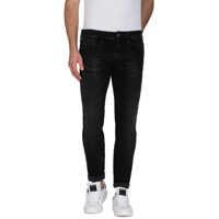 Blugi Men's Black Slim Fit Jeans Barbati