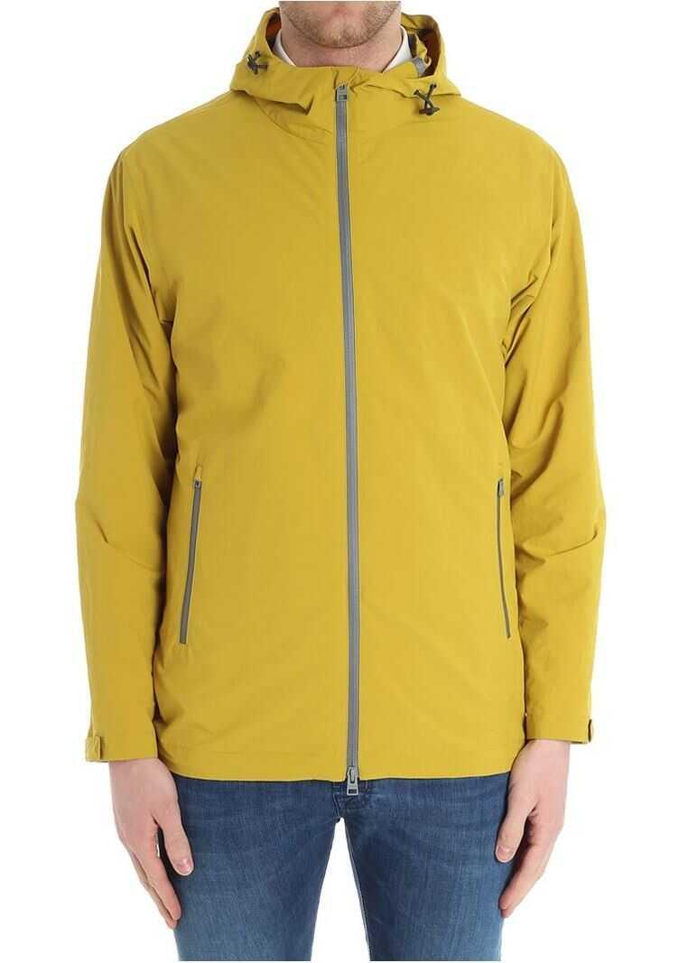 Herno Mustard Color Jacket Yellow