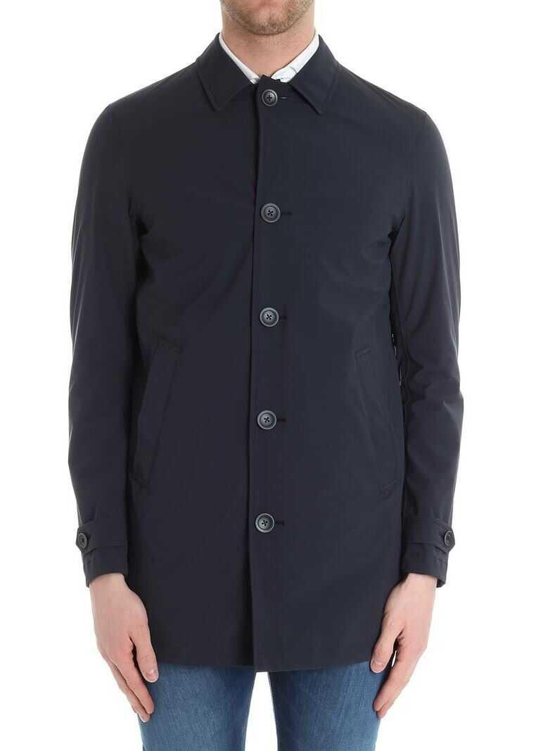 Herno Blue Jacket Blue