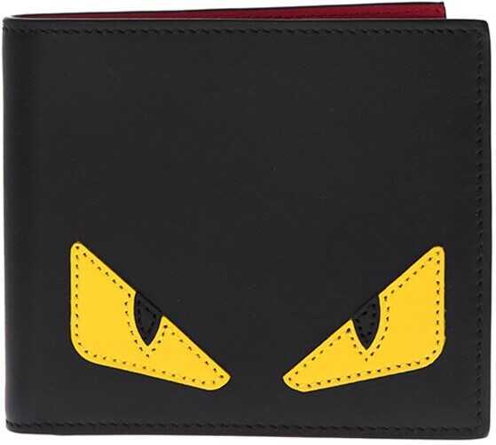 Fendi Leather Wallet Black