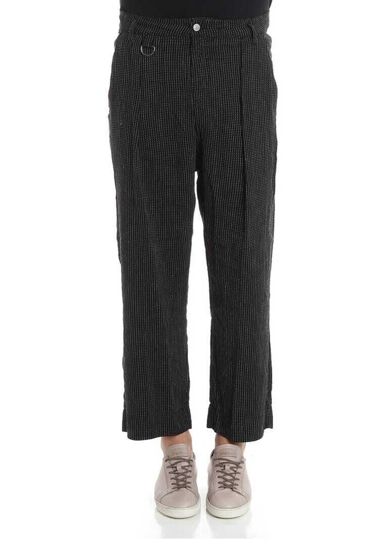 Vivienne Westwood Anglomania Black Crop Trousers Black