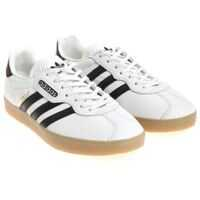 Tenisi & Adidasi White Gazelle Super Sneakers Barbati