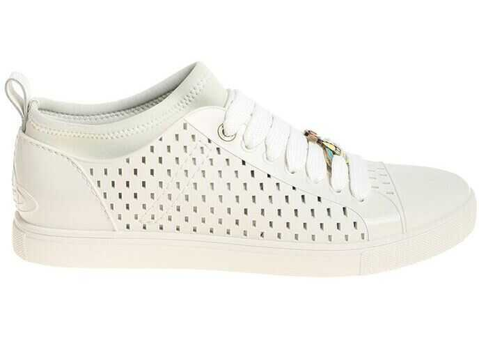 Vivienne Westwood Ice-Colored Rubber Sneakers White