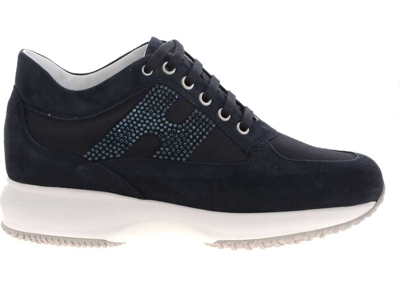 Hogan Blue Interactive Sneakers Blue