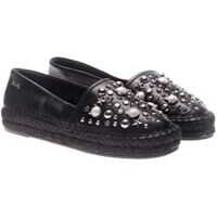 Espadrile Black Espadrilles With Studs And Logo Femei
