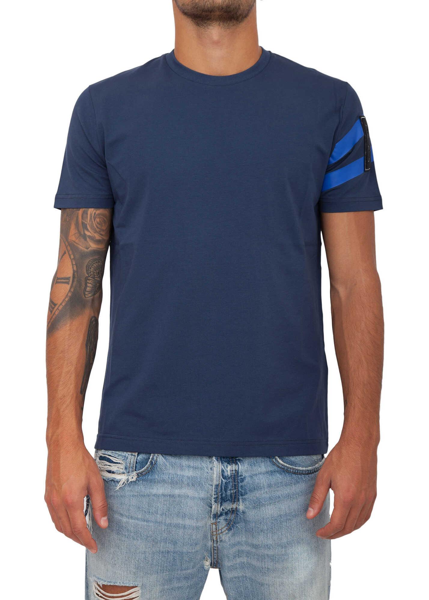 BIKKEMBERGS T-Shirt* BLUE