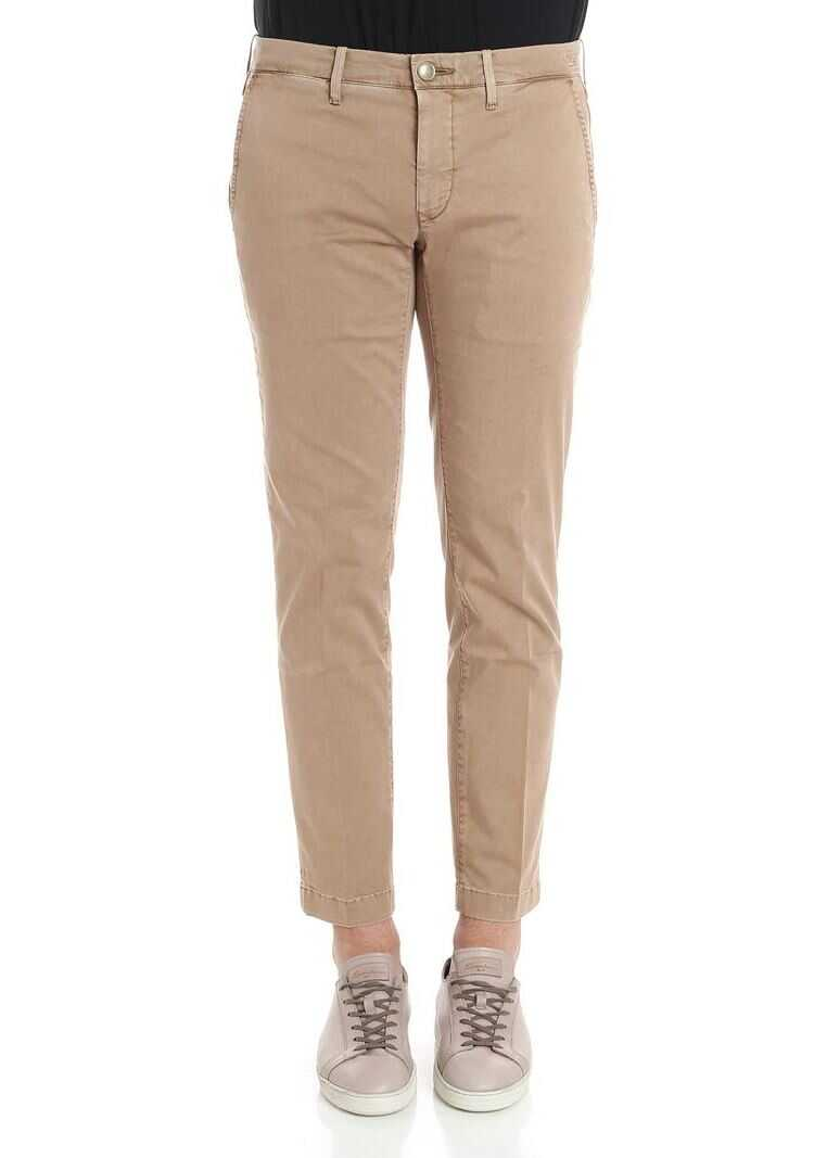 Jacob Cohen Beige Lion Trousers Beige